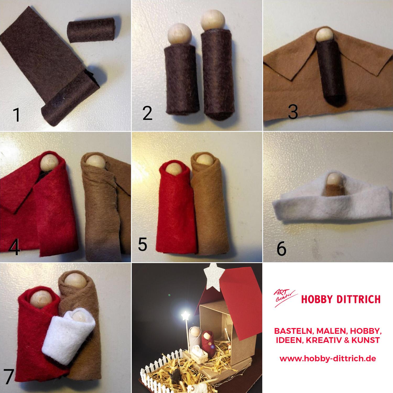 bastelideen f r herbst advent und weihnachten hobby dittrich. Black Bedroom Furniture Sets. Home Design Ideas